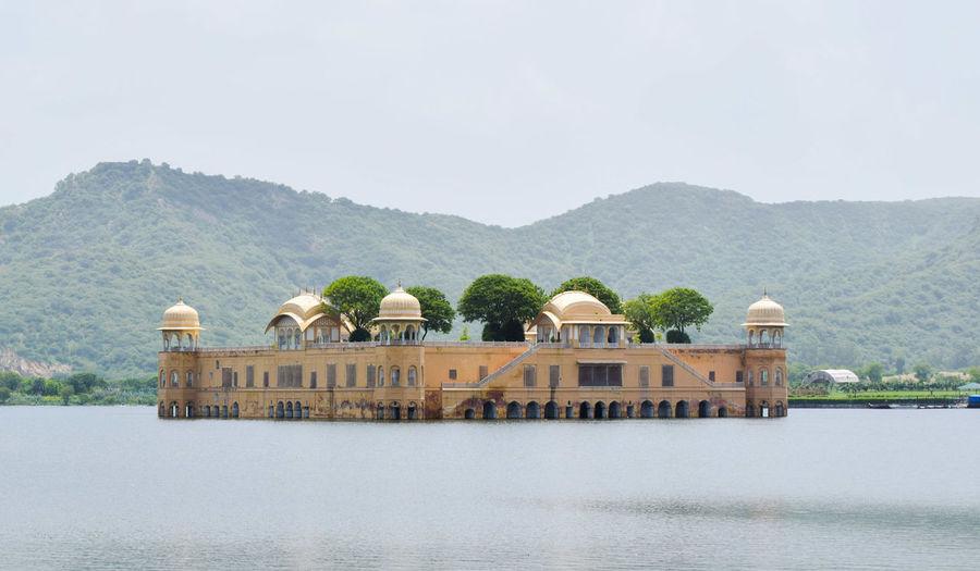 Palace on a lake