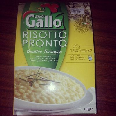 ~ Risotto for breakfast ~ ;D