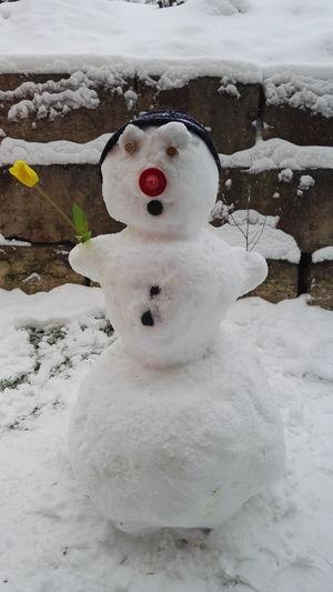 Snow Winter Outdoors Cold Temperature Honor7 Mobilephotography Mobile Photography Cold Winter ❄⛄ Snowman⛄ Snowman Schneemann Resist