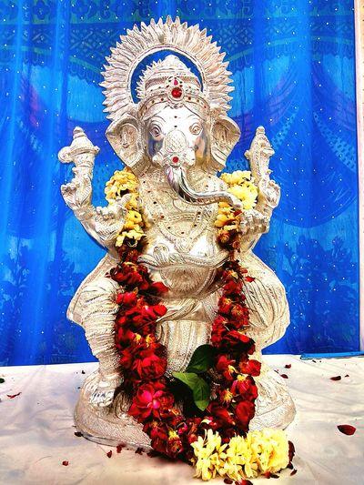 Ganapati bapa moriya.......... god ganesha No People Day EyeEmNewHere God Is Great. God's Beauty God