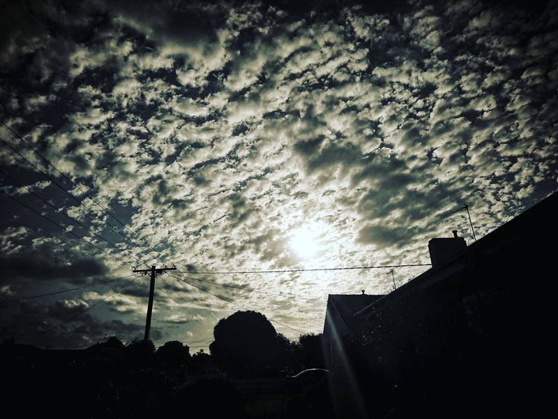 Clouds over my House