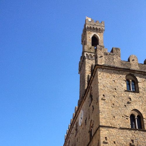 Palazzo dei Priori , Volterra Igerspisa ig_pisa igerstoscana ig_toscana blue sky nofilter botdpisa thanks @igerspisa