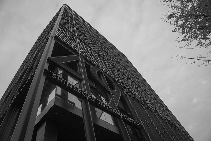 Black And White Exterior EyeEm Korea Façade Modern Monochrome Seoul, Korea Steel Structure Urban