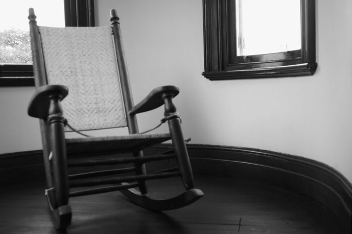 Chair Indoors  No People Furniture Window Leica Lens Avenon 28mm F3.5 LTM Black And White Photography EyeEm Best Shots - Black + White Monochrome Photography Black And White Collection  Fujifilm X-Pro1 Japan Photography Rocking Chair Rockingchair Chairs Modern Nostalgia