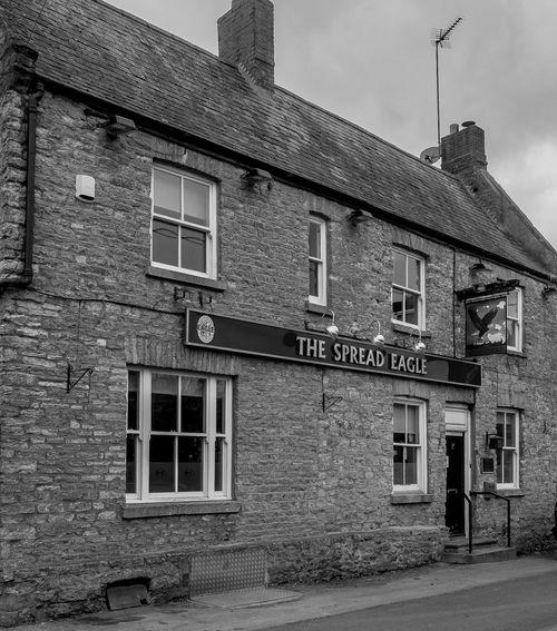 The Spread Eagle, Forest Road, Piddington, Northamptonshire Architecture Black And White FUJIFILM X-T10 Village Monochrome Northamptonshire Pubs Northampton Pubs Piddington