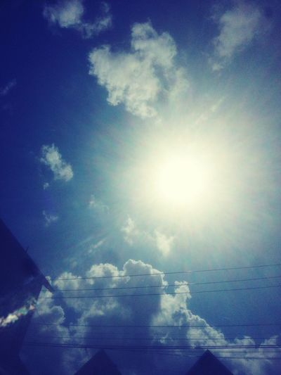 Sunshine Summer2015 Sky And Clouds