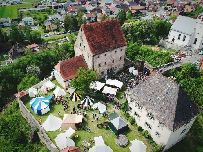 Ritterfest Burg Grumbach Drone  Dji Castle Germany Close-up Grass First Eyeem Photo