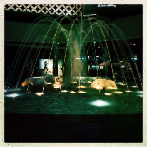 La fuente The Fountain La Fuente Parque Arauco Mall Parque Arauco Welcome To Black