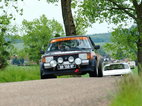 Rallye historique des lingons Rallye Rally Car Talbot