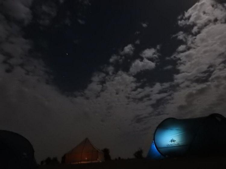 Bivouac Night Illuminated Astronomy Sky No People Star - Space Science
