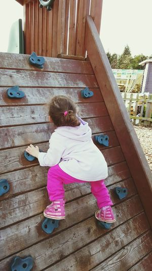 Granddaughter loves to climb childs play in park Hi! Check This Out Taking Photos Granddaughter Loves Grandma April Showcase Hello World Enjoying Life Enjoy The Little Things