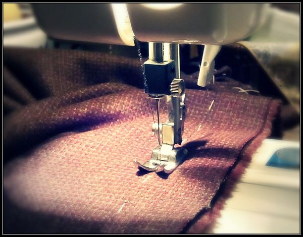 Pattern Pieces Fabric Sewing Machine