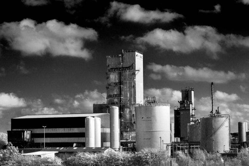 Industrial Photography Black & White Black And White Photography Factory Industry Metal Industry Power Station Smoke Stack Business Finance And Industry Sky Architecture Building Exterior Built Structure