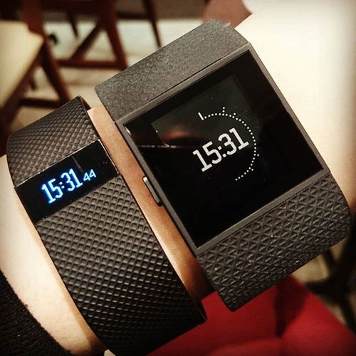 Fitbit Chargehr to Surge . Fitbitchargehr FitbitSurge Wristband