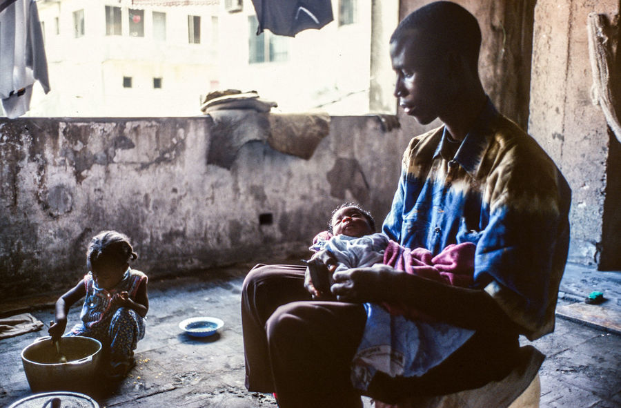 The Photojournalist - 2018 EyeEm Awards The Portraitist - 2018 EyeEm Awards The Week on EyeEm Africa Day To Day Caring Documentary Focus On Africa Help People Helpless Liberia Man And Baby Monrovia Poor Living Condition Poor People  Refugees From Tomorrow Reportage Social Issues
