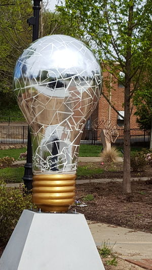 Mirror bulb Tree No People Outdoors Day Nature Pattern Love Where You Live Art Love My Life  On Display Spartanburg, SC Light Bulb Shiny