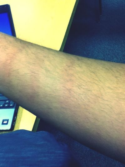 Charles grabbed my arm... I will now have bruising ...
