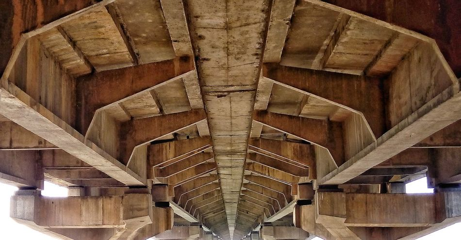 Bridge Allahabad India EyeEm Gallery Bridge Photography Bridge Structure Outdoor Downside  Structure Photography Pattern Structures & Lines Structural Pattern Jhusi शास्त्री ब्रिज The Architect - 2017 EyeEm Awards
