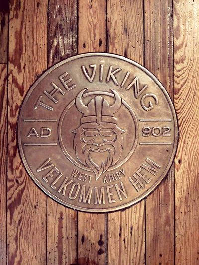 Wood - Material No People Close-up Copper  Viking Vikings  Theviking West Kirby West Kirby UK Restaurant Theme Floor Coin Rustic Face Helmet