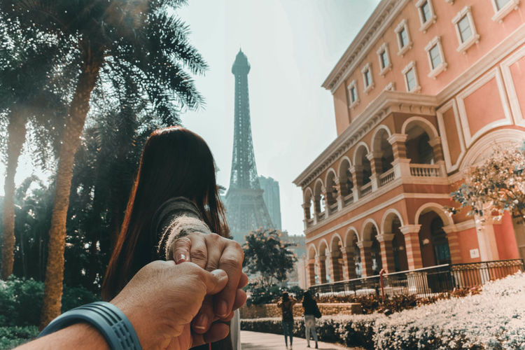Macao China Architecture Built Structure Couple - Relationship Lifestyles Love Positive Emotion Togetherness Two People Human Connection A New Perspective On Life