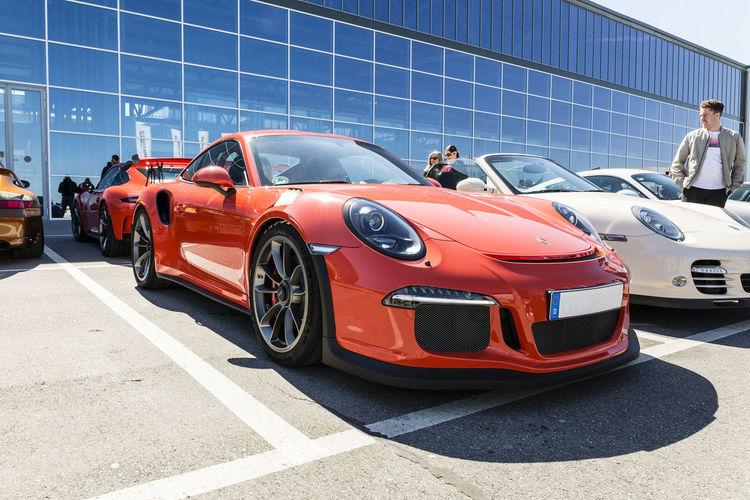 Car Mode Of Transport Motorworld Porsche Porsche GT3 Saison Saisonstart Sports Race Transportation