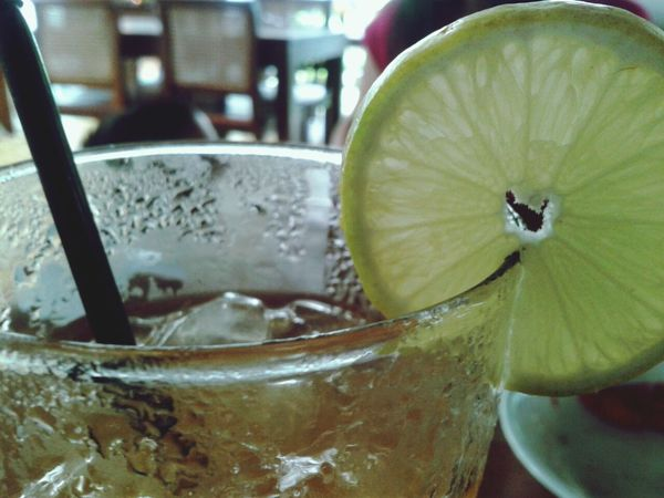 ice lemon tea Fresh Drink Relaxing Taking Photos Photo By Lisanoya