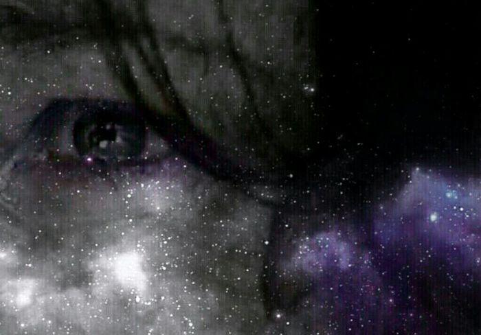 Purple Haze Startrek Startrack GN 💫💫💜💫 EyeEm Best Edits Purplelicious PrettyEyes Blended Images Tainted Looking To The Other Side Model IRIM