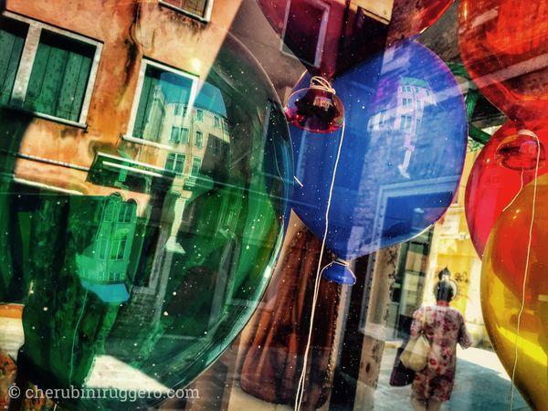 Balloon Palloncini Colors Venezia Igersvenezia Igersveneto Cherubini Ruggero Dreaming Dreams Sogno Sognare Rossopadova