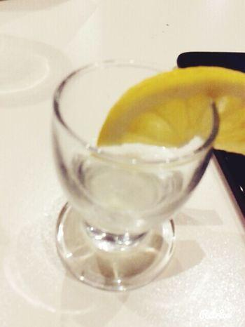 LastNight :) Vodka Lemon Withfriends Barrestaurant √ Perfecttime ^ Now Headache :/ :DD