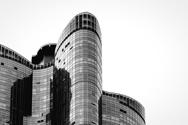 Penthouse Architecture Built Structure Building Exterior Skyscraper Low Angle View Tall - High Tower Modern Building Story Office Building Outdoors Tall Curve Urban Skyline Skyline Busan Korea Monochrome Modern Architecture Monochrome Photography Dramatic Angles Penthouse Apartment Residential Building Residential Structure