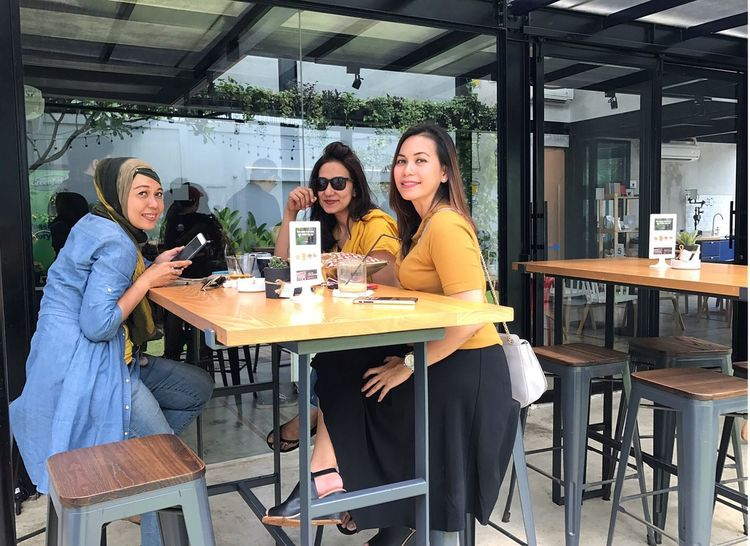 Arisan 3, at GORDI, Kemang. Arisan IMCH By ITag Arisan Ex IMLC's MOMs By ITag Friends By ITag