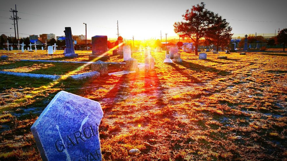 Headstone Headstones Headstones In A Row Brokenheadstones Cemetery Cemetery_shots Sunset Sunshine Dusk In The City Dusk Colours Dusk In The Cemetery Cemetery Photography Cityscape City View  City Skyline Grave Graveyard Beauty Graveyard Collection Graveyard_dead Taking Photos Check This Out Cheese! Relaxing Enjoying Life Hanging Out