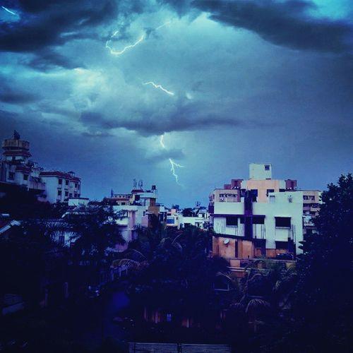 Thunderstorm Afternoonrain Awesomewheather Picoftheday Monsooniscoming
