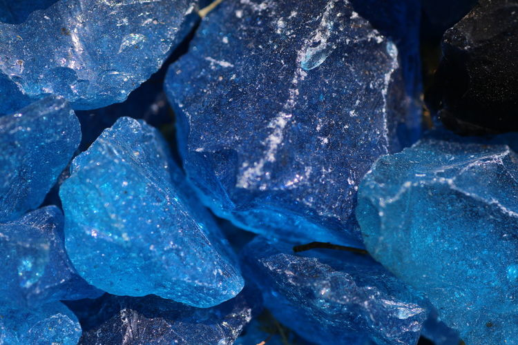 Blue Close-up Day Minerals Nature No People Outdoors Stones