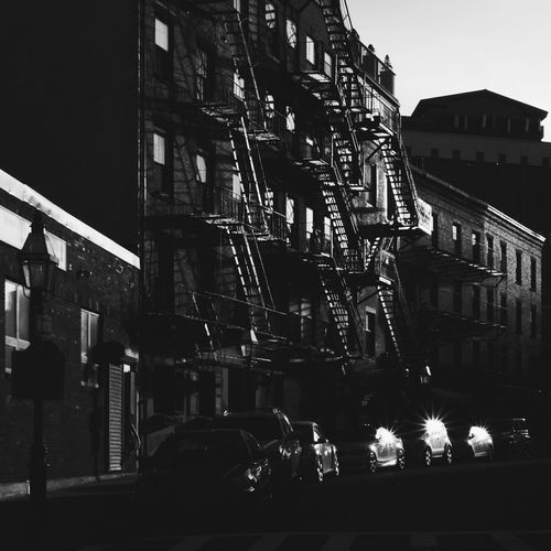 Late day sparkle North End Boston Boston, Massachusetts Massachusetts New England  United States City City Life Street Photography Street Black And White Blackandwhite Black And White Photography Look At This EyeEm Best Shots EyeEm Best Shots - Black + White Buildings