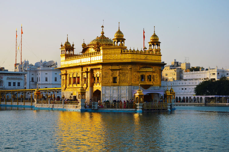 Golden temple -  is a gurdwara located in the city of amritsar, punjab, india.