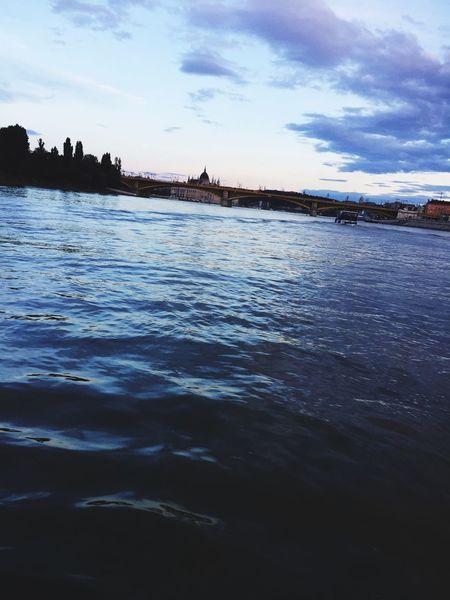 Water Donau Nature Cloud - Sky Sky Parlament Of Hungary River Duna Margaret Island My Town My Town My World... Beautiful Ship Fina Avizosszekot