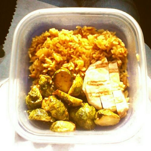 My #yummy #lowfat and #lowcalorie #lunch. (300 calories). #foodstagram #foodie #brusselsprouts #ricepilaf #chicken #rice #pilaf #diet #weightloss #lunchtime #eatright #eatingright #eatclean #eatingclean #fitness #fitspo #lowcal #dieting #caloriecounting # Eatclean Lowfat Yummy Lowcalorie Lunch Eatright Chicken Lowcal Lunchtime Ricepilaf Foodie Eatingright Fitness Eatingclean Diet Caloriecounting Weightloss Countingcalories Rice Dieting Foodstagram Fitspo Brusselsprouts Pilaf