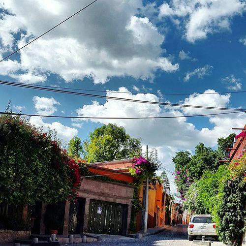Clouds And Sky Sunset Carretera Sky Mexico EyeEm Color Magicplace Viva Mexico San Miguel De Allende