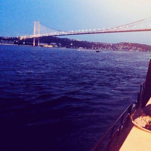 Instalook Instalike Instamood Bosphorus Istanbul sky night clup sortie