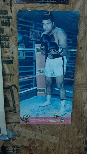 My Trainers Autographed Pic Of Muhammad Ali.