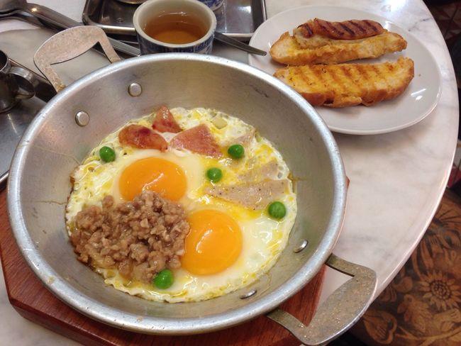 Breakfast Thai Style Fried Egg Thai Style Bangkok Thailand Kopitiam What's For Dinner?