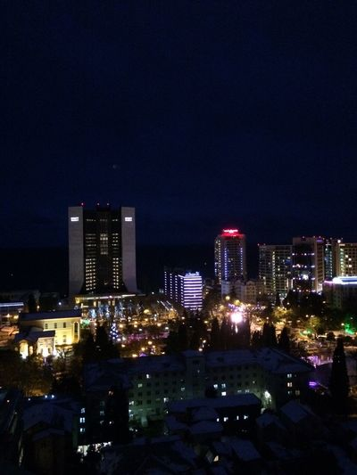 Sochi Night Lights First Eyeem Photo