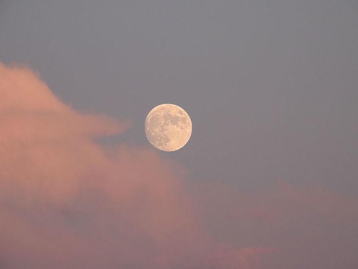 Sky Space Moon