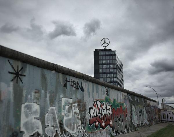 Berlin Eastsidegallery Berlinwall Mercedes-Benz