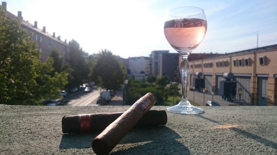 Drinking Glass Outdoors Cigar Smoking Built Structure Wine Sky Day Summer Berlin Photography Friedrichshain Berlin The Week On Eyem Best EyeEm Shot Home Is Where My Heart Is