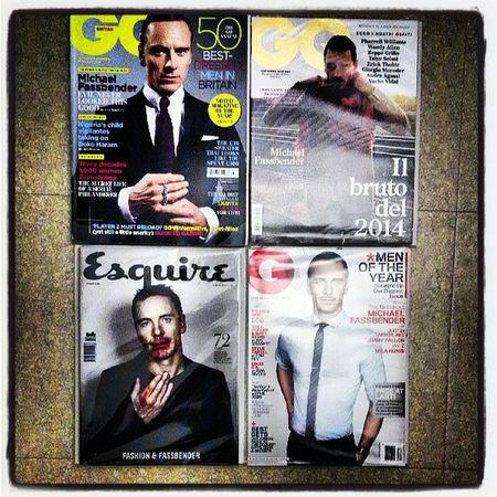 Nouvelle collection sur Michel Fassbender, pas sûre d'avoir assez de lecture Michaelfassbender Fassy GQ Esquire magazine