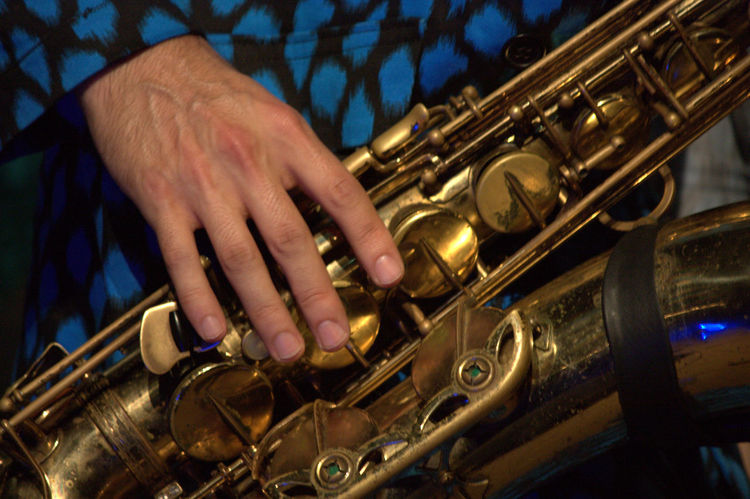 Close-up Colorno Dirty Honkers Festival Hand Italy Music Music Brings Us Together Musician Parma Part Of Performance Saxophone Arts Culture And Entertainment