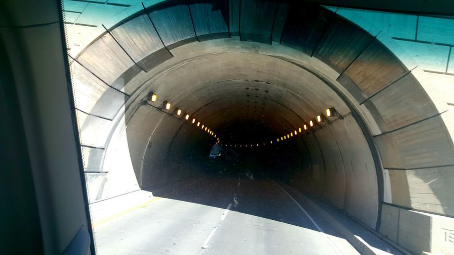 Into The Tunnel California Coast