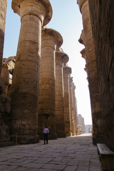 The Great Hypostyle Hall of Karnak Temple, Luxor (Egypt) Africa Ancient Ancient Civilization Archaeology Architecture Egypt Famous Place Historical Sights History Sunlight The Past The Way Forward Tourism Travel Travel Destinations Travel Photography Traveling UNESCO World Heritage Site DOLFFS Neighborhood Map